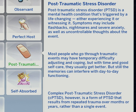 Post-Traumatic Stress Disorder by NotoriousRose
