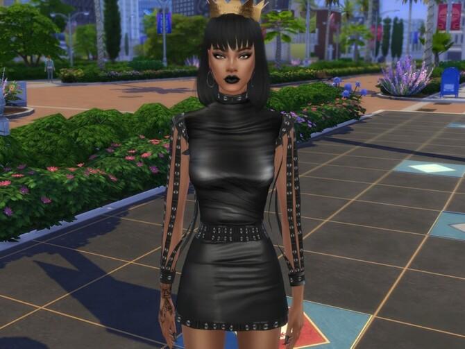 Sims 4 Rihanna by Jolea at TSR