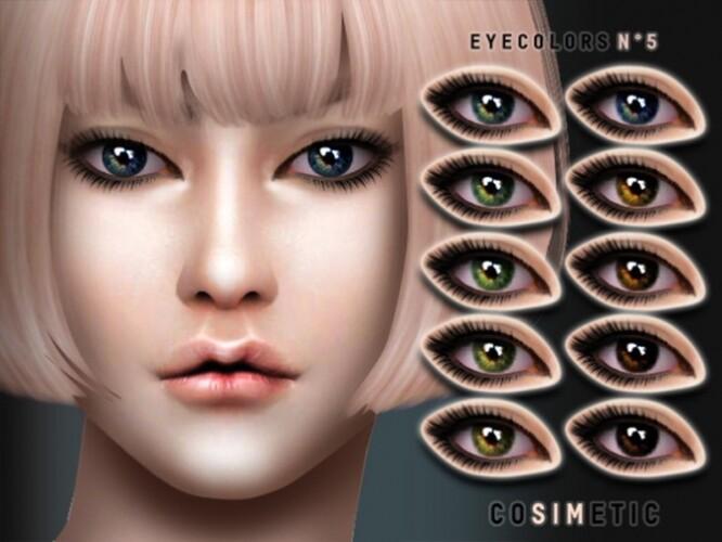 Eyecolors N5 by cosimetic