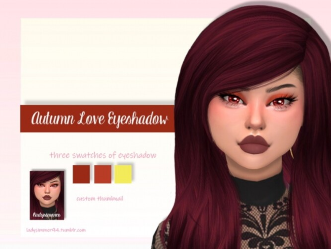 Autumn Love Eyeshadow by LadySimmer94