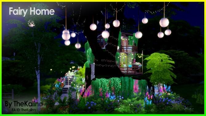 Sims 4 Fairy Home at Kalino