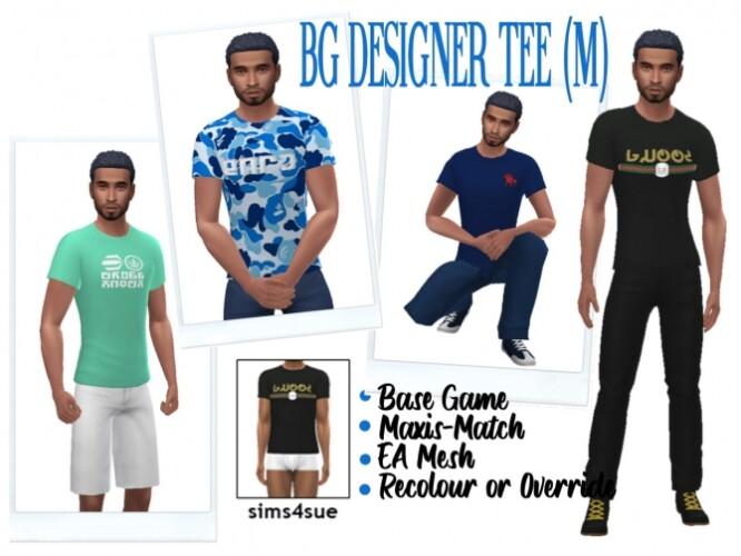 BG DESIGNER TEE