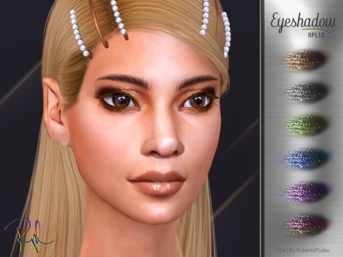 Eyeshadow RPL10 by RobertaPLobo at TSR image 2136 670x503 Sims 4 Updates