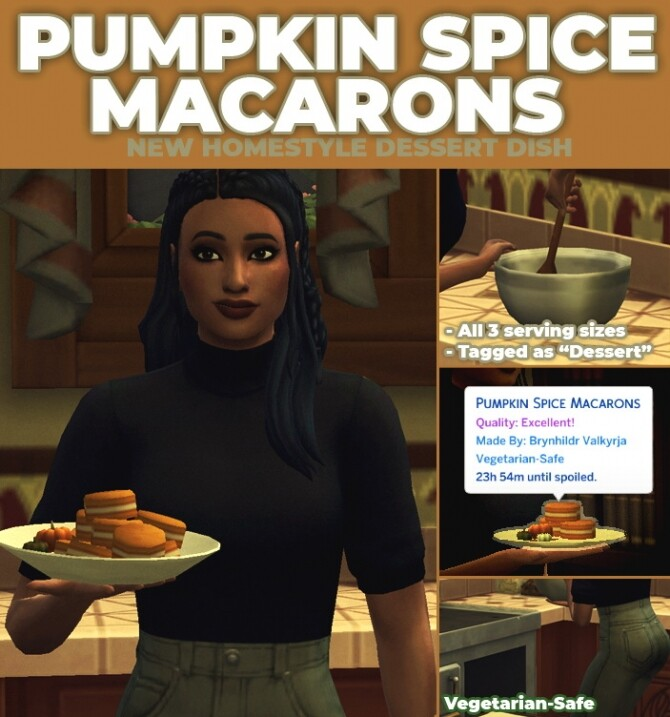 Pumpkin Spice Macarons by RobinKLocksley