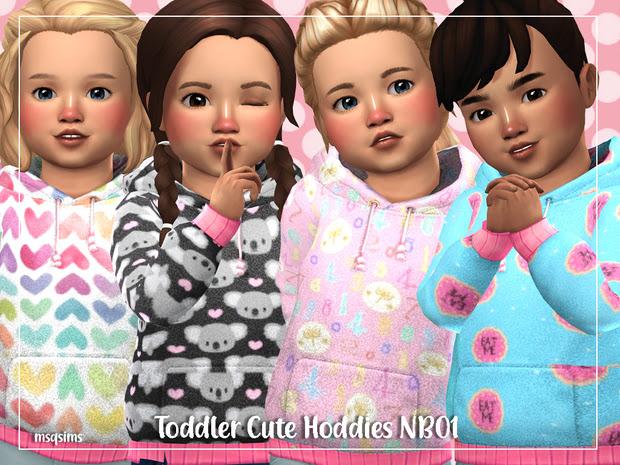 Toddler Cute Hoddies NB01