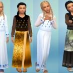 kids dress recolor