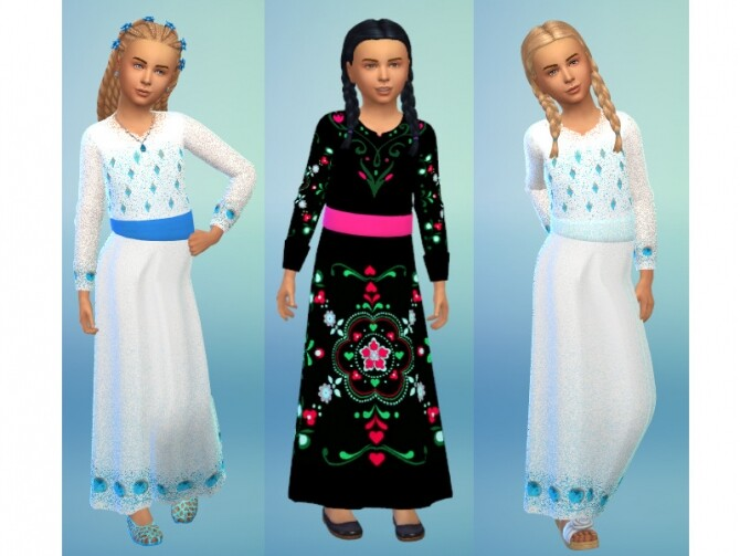 Kids dress recolor at Louisa Creations4Sims image 2191 670x503 Sims 4 Updates