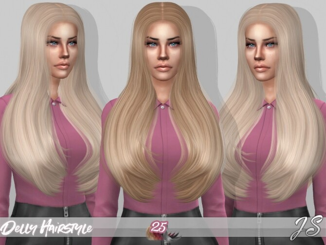 Delly Hair by JavaSims at TSR image 22 670x503 Sims 4 Updates