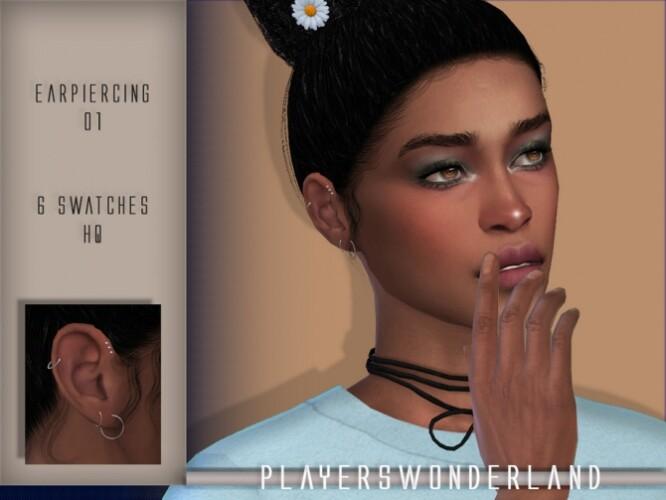 Ear Piercings CC Colaboration Part 2 by PlayersWonderland
