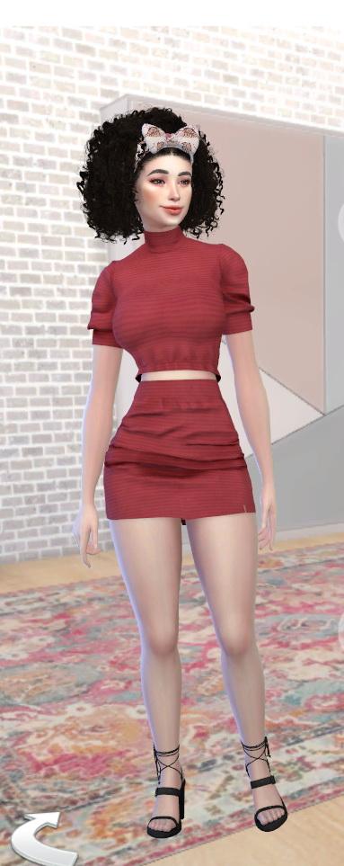 Kaycee Franko by Jonabelorio at L'UniverSims image 2272 Sims 4 Updates