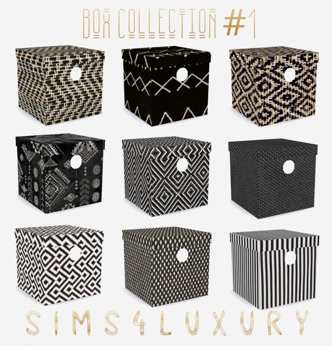 Sims 4 Box Collection #1 at Sims4 Luxury