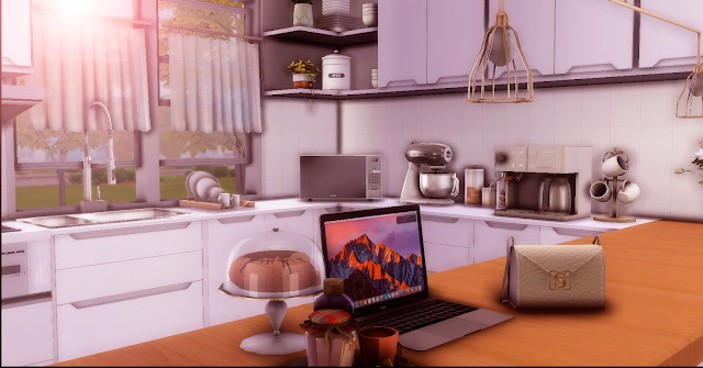 Sims 4 Audrey Kitchen at Lily Sims