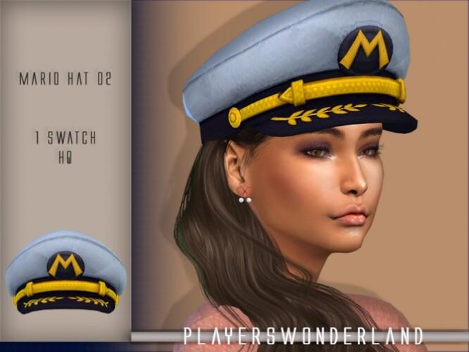 Mario Captain Hat by PlayersWonderland