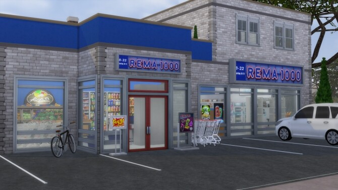 Rema 1000 Grocery Store