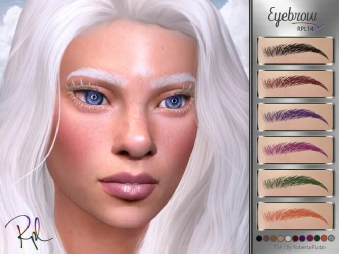 Eyebrow RPL14 by RobertaPLobo