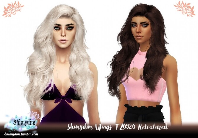 Wings TZ0920 Hair Retexture