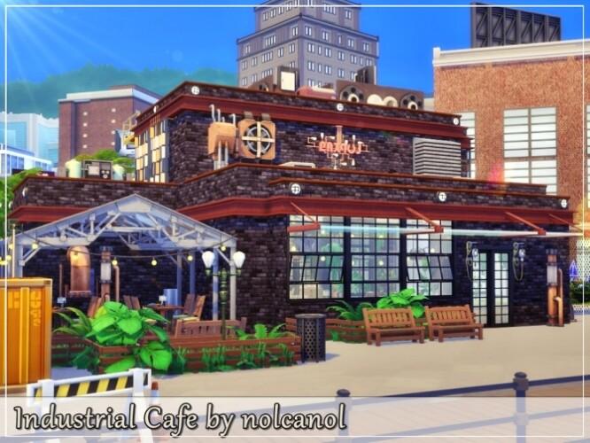 Industrial Cafe by nolcanol