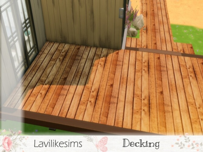 Decking by lavilikesims