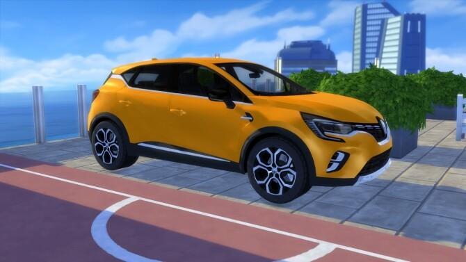 Sims 4 Renault Captur 2020 at LorySims