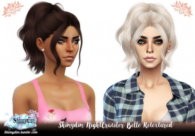 NightCrawler Belle Hair Retexture
