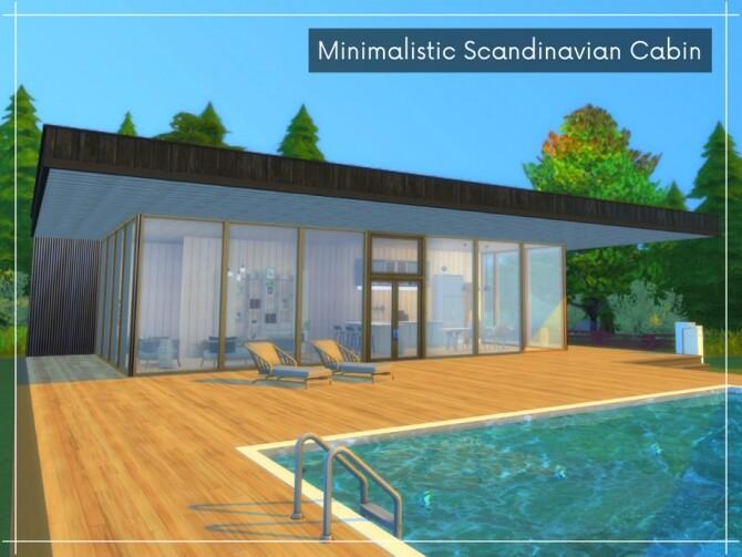 Minimalistic Scandinavian Cabin by Alenna