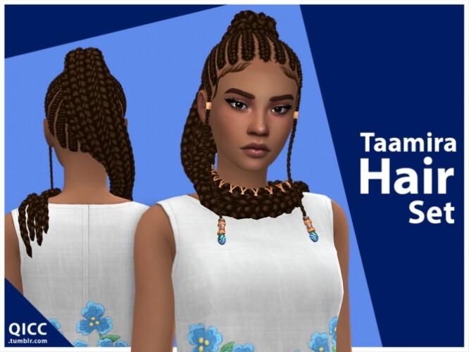Taamira Hair Set by qicc