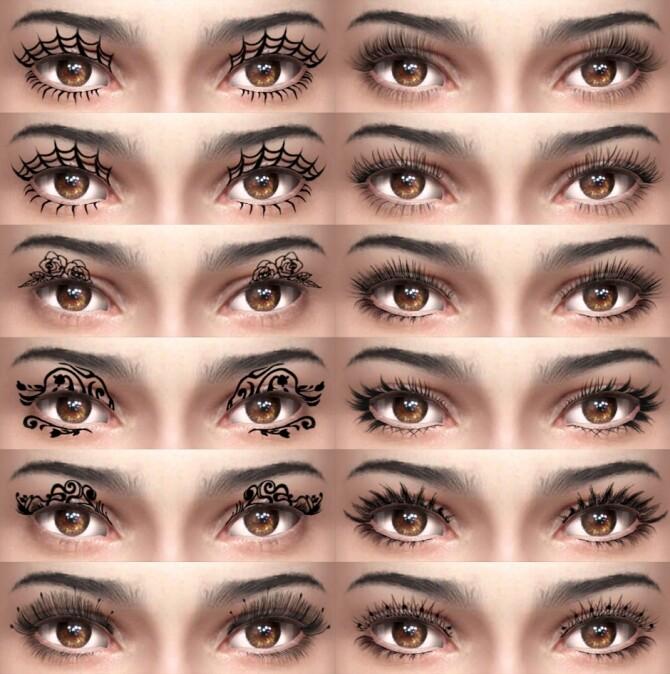 Halloween 3D Eyelashes at Giulietta image 2517 670x674 Sims 4 Updates
