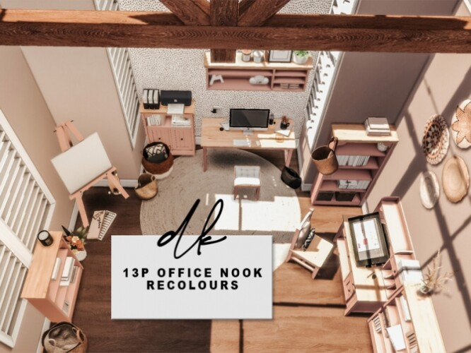 13ps Office Nook Recolours