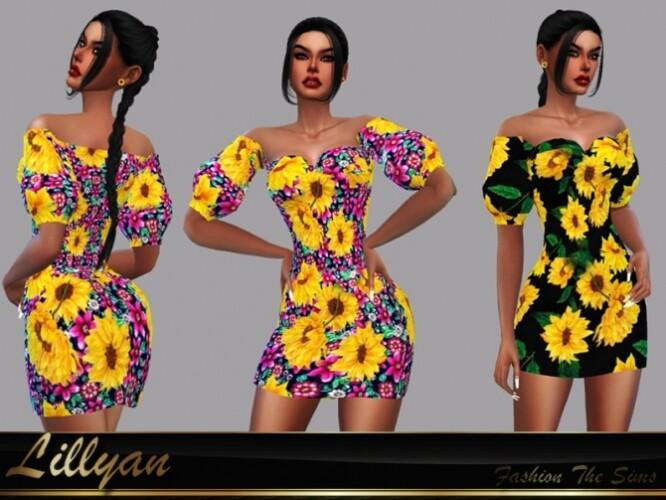 Dress Flora by LYLLYAN