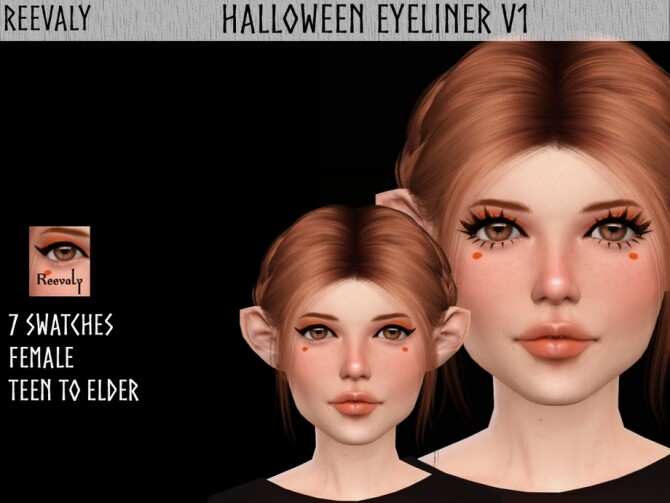 Halloween Collaboration with PlayersWonderland V1 by Reevaly at TSR image 2526 670x503 Sims 4 Updates