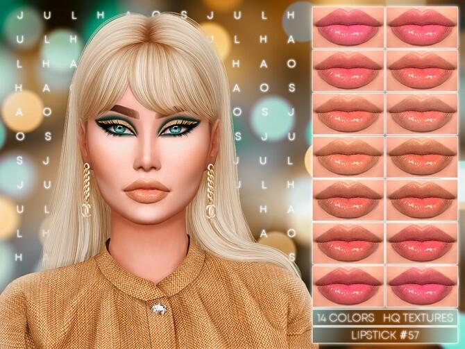 Sims 4 LIPSTICK #57 by Jul Haos at TSR