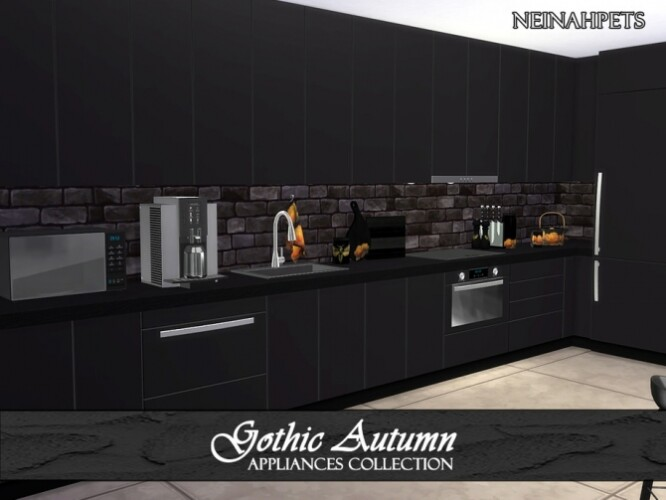 Gothic Autumn Appliances by neinahpets