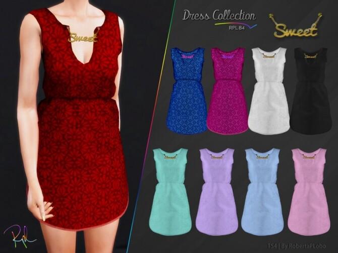 Sims 4 Dress Collection RPL84 by RobertaPLobo at TSR