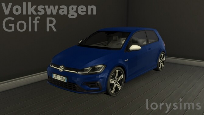 Volkswagen Golf R by LorySims