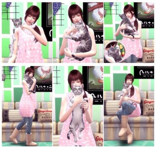 Me Cat Pose 2