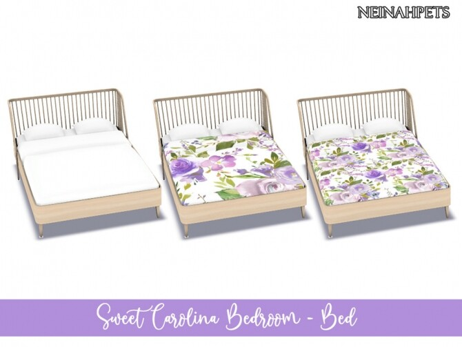 Sweet Carolina Bedroom by neinahpets at TSR image 281 670x503 Sims 4 Updates