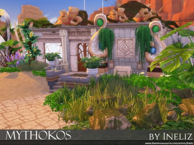 Mythokos restaurant by Ineliz