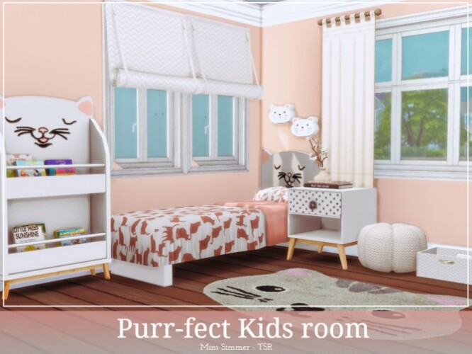 Purrfect Kids room by Mini Simmer