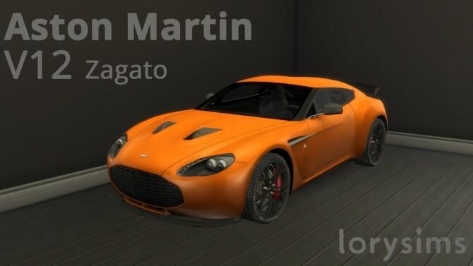 Aston Martin V12 Zagato at LorySims image 2872 670x377 Sims 4 Updates