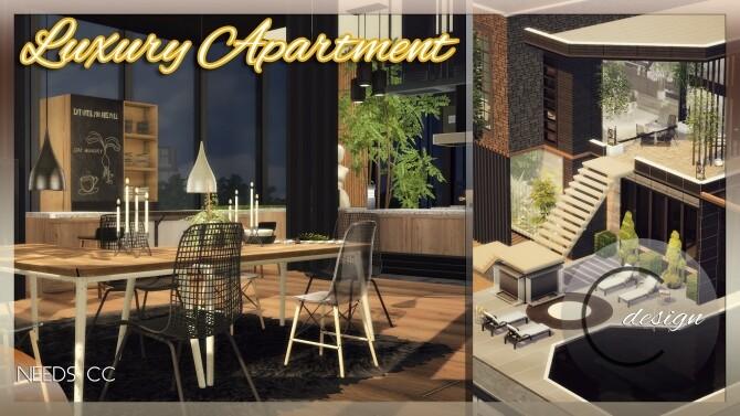 Luxury Apartment at Cross Design image 2873 670x377 Sims 4 Updates
