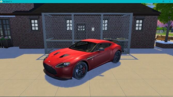 Aston Martin V12 Zagato at LorySims image 2883 670x377 Sims 4 Updates