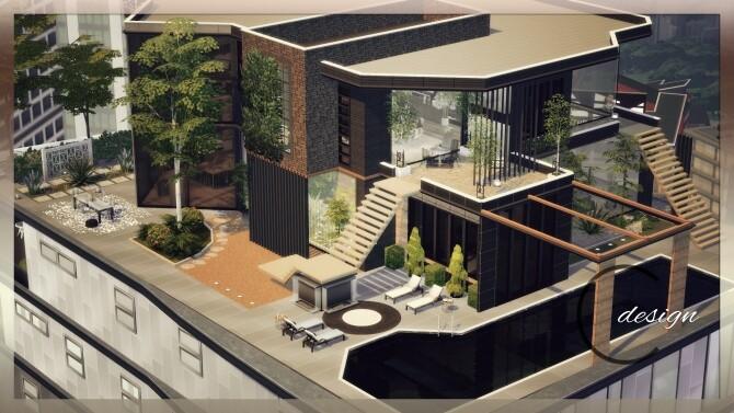 Luxury Apartment at Cross Design image 2884 670x377 Sims 4 Updates
