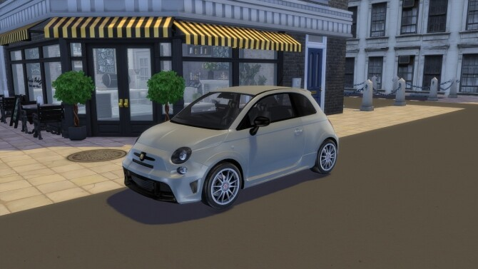 Sims 4 2016 Abarth 695 Biposto at Modern Crafter CC