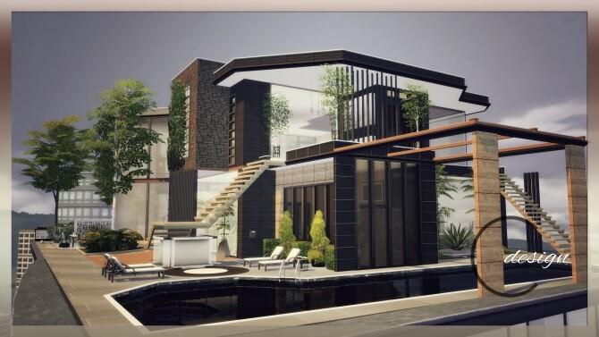 Luxury Apartment at Cross Design image 2903 670x377 Sims 4 Updates