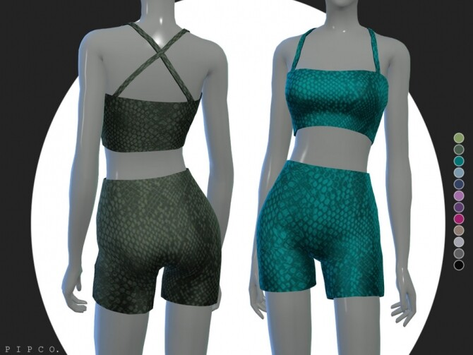 Sims 4 Christina outfit by pipco at TSR