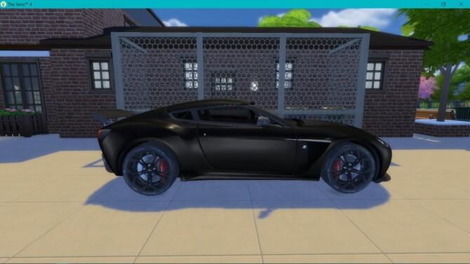 Aston Martin V12 Zagato at LorySims image 29110 670x377 Sims 4 Updates