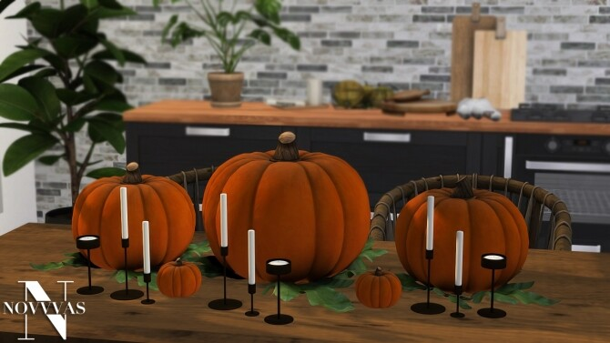 Sims 4 PUMPKINS at Novvvas