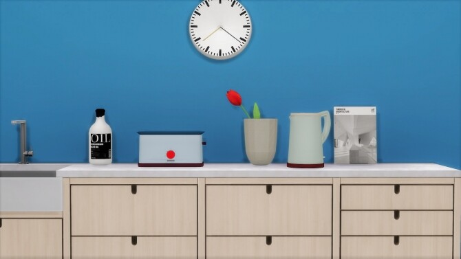 Sims 4 SOWDEN TOASTER at Meinkatz Creations