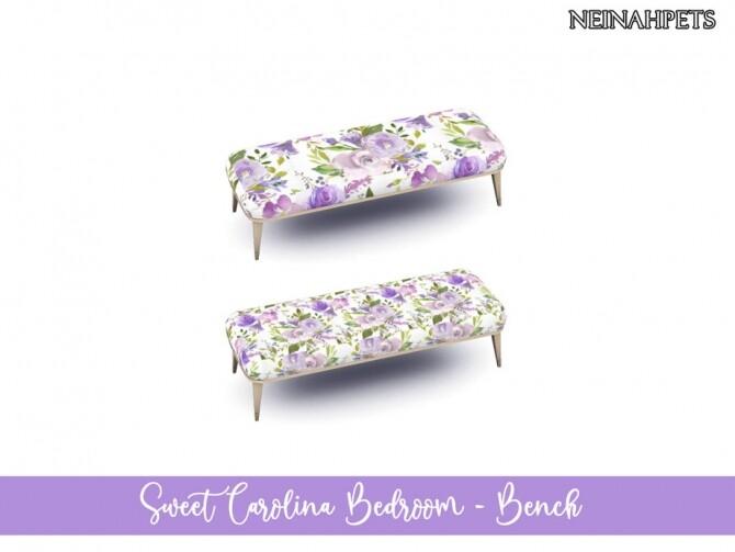 Sims 4 Sweet Carolina Bedroom by neinahpets at TSR
