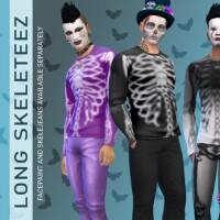 Simblreen Long SkeleTeez by SimmieV